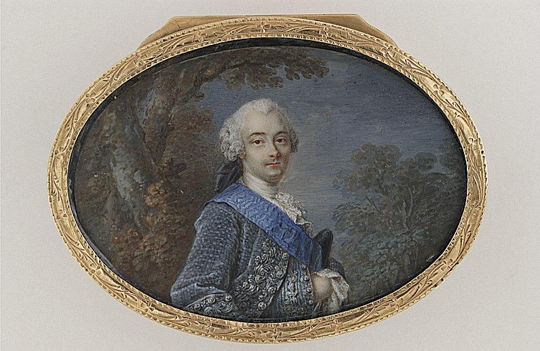 Portrait probable de Louis-Jules Barbon Mancini Mazarini, duc de Nivernais