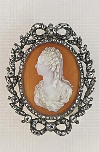 Portrait en buste de Sophie, fille du maréchal de Richelieu