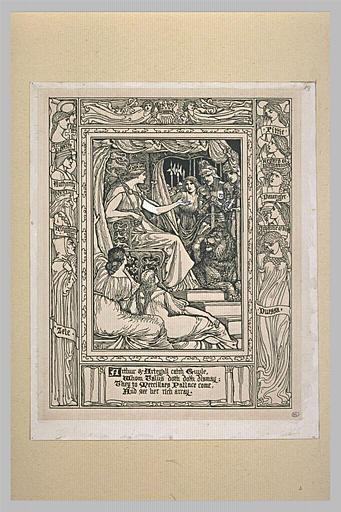 Illustration pour The Faerie Queene de Spenser