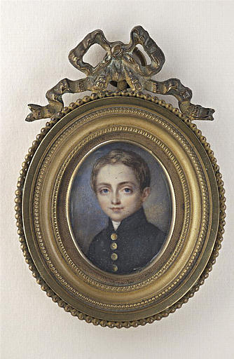 Portrait de jeune homme, en buste, de face