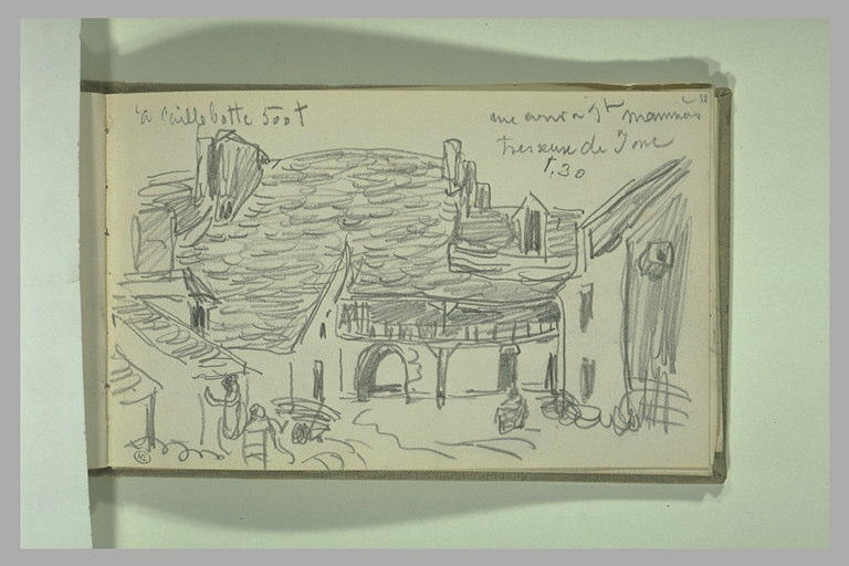Une cour à Saint-Mammès