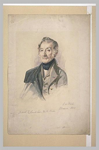 Portrait du comte Alexandre de Laborde_0