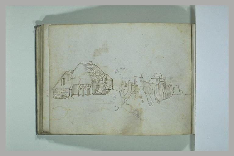 BRIL école des : Chaumière, forteresse sur un promontoire