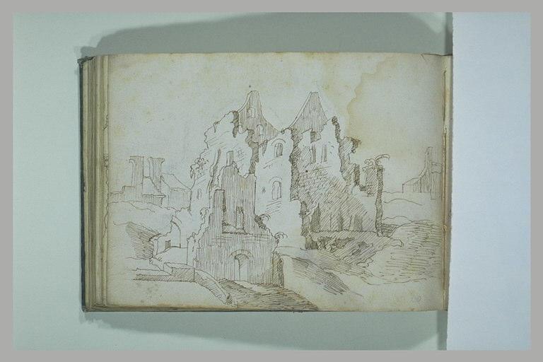 BRIL école des : Paysage avec forteresse au premier plan