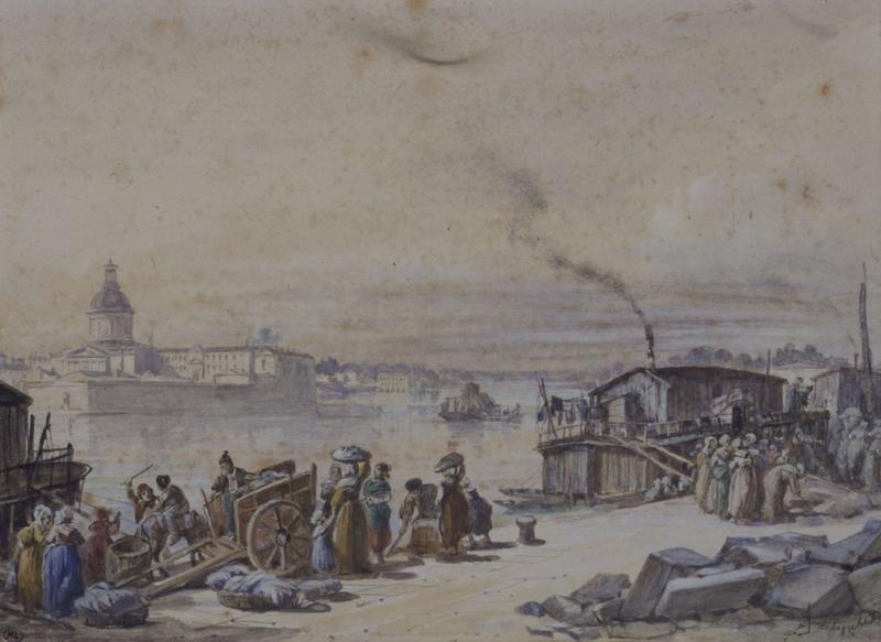 Les blanchisseuses au port de la Daurade, à Toulouse_0