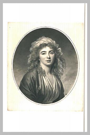 LEMOINE Jacques Antoine Marie : Portrait de Madame Elisabeth-Félicité Molé-Reymond