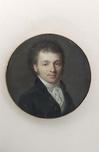 Portrait du général Laconpérie, en buste