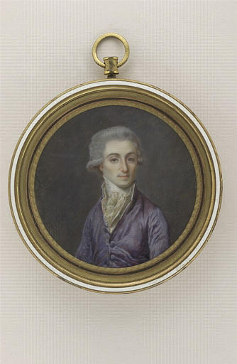 AUGUSTIN Jean-Baptiste Jacques (d'après), anonyme : Portrait du Marquis d'Estourmel