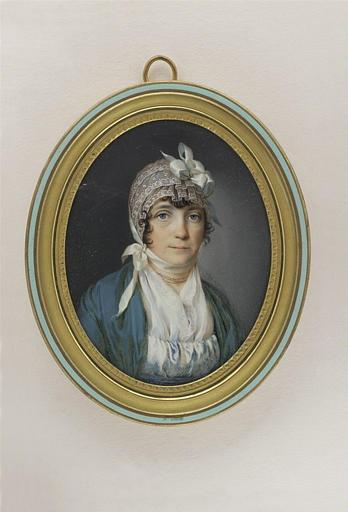 Portrait de madame Campan, en buste