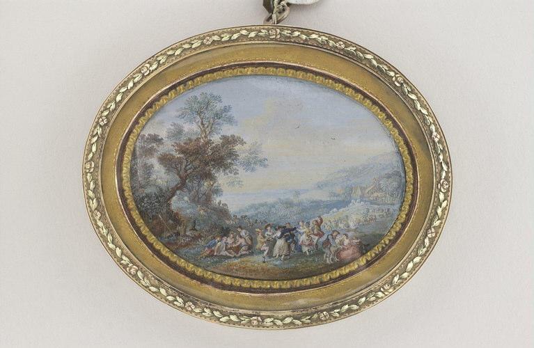 BLARENBERGHE Louis Nicolas van : Fête champêtre