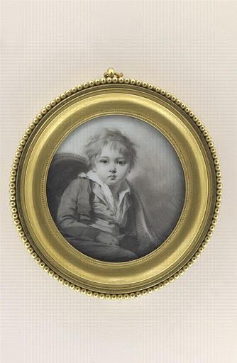 Portrait d'Edouard Boilly, fils de l'artiste