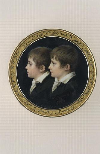 Portrait de six enfants