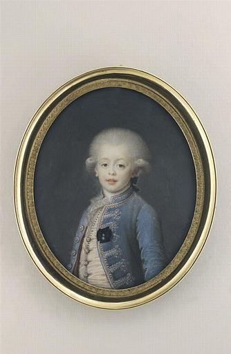 Portrait de Louis Antoine de Bourbon, duc d'Angoulême, enfant_0