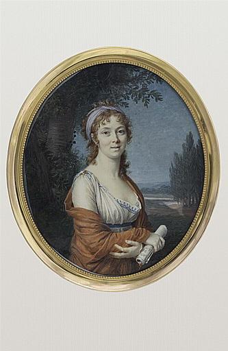 Portrait présumé de Mademoiselle Mars_0