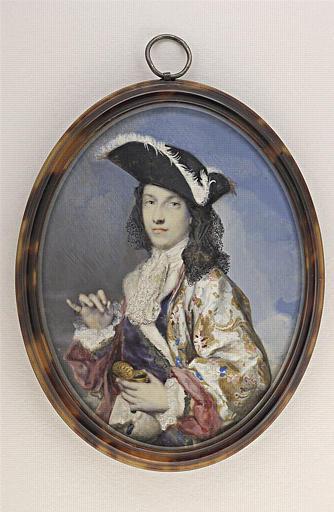 CARRIERA Rosalba Giovanna (attribué à) : Le prétendant, fils de Jacques II