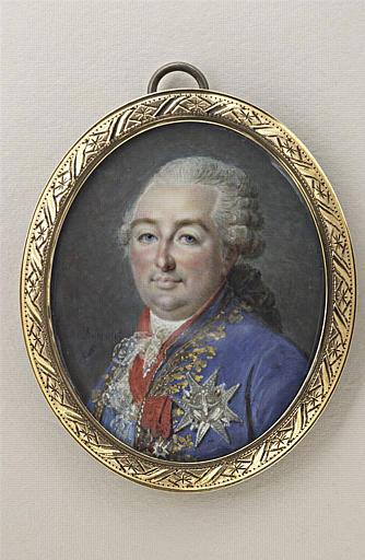 Portrait de Louis XVI, roi de France, en buste_0