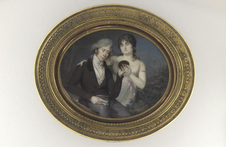 GUERIN Jean Urbain : Lady Clarence et son père