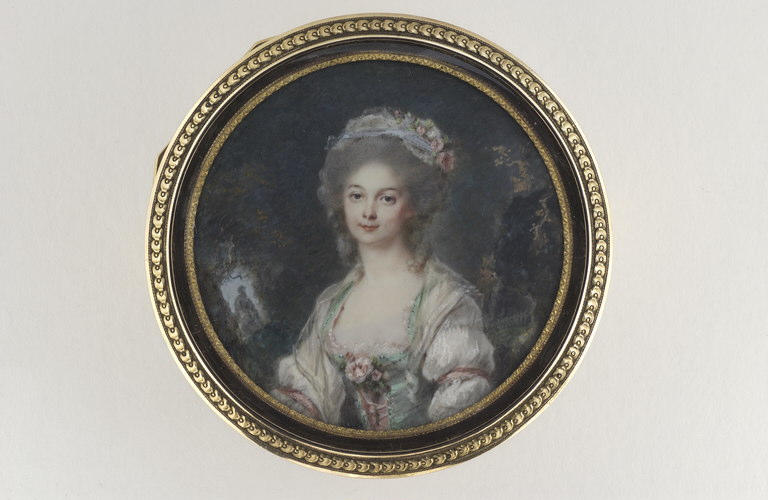 Portrait présumé d'une comtesse de Nicolaï