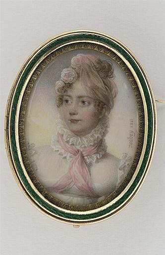 Portrait de femme, en buste
