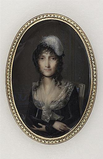 Portrait de Laetitia Bonaparte