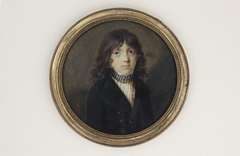 LE GUAY Charles Etienne : Portrait d'Adam Hyppolite de Fabroni, âgé de douze ans
