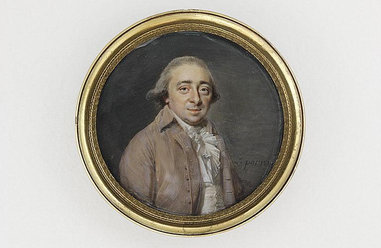 Portrait du peintre Michel Nicolas Bernard Lépicié (1735-1784)_0