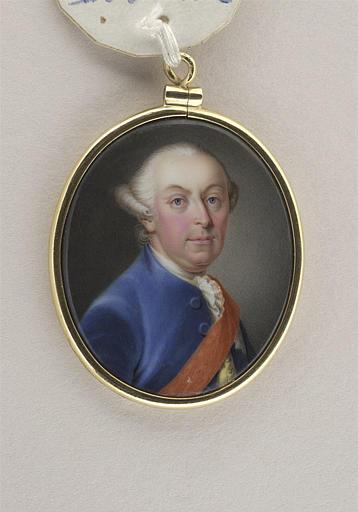 Portrait d'homme portant le cordon rouge d'un ordre_0