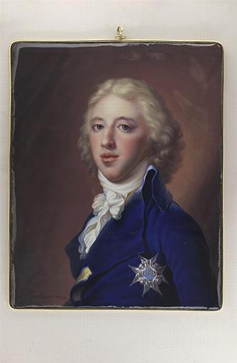 Portrait de Gustave IV Adolphe, roi de Suède