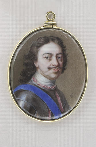 Portrait de Pierre le Grand, en buste