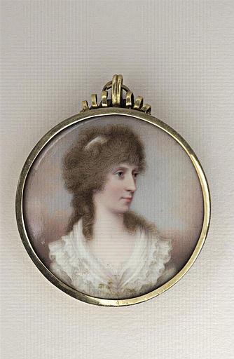 BONE Henry : Portrait de Mrs Ponsonby