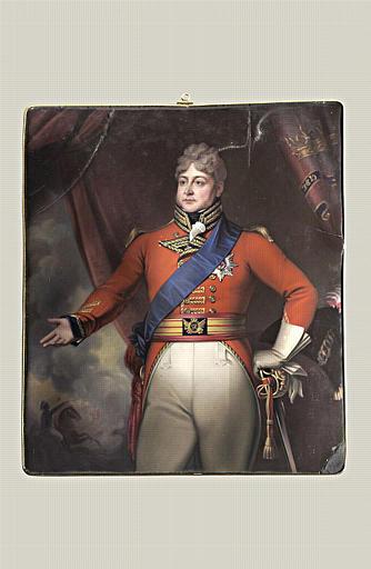 Portrait du roi George IV d'Angleterre_0