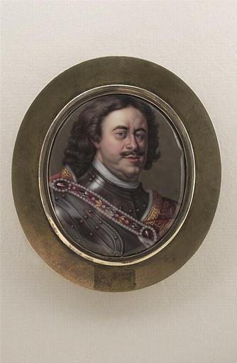 Portrait de Pierre le Grand, en buste_0