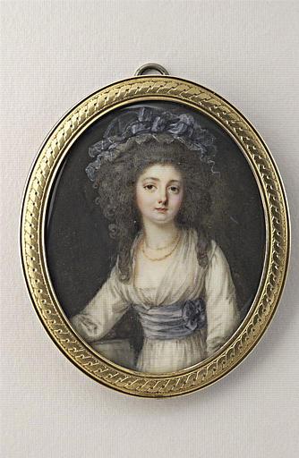 Portrait de M. L. M. Dulieu de Chenevaux