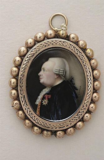 COTEAU Jean : M. de la Béraudière, portant la Croix de Saint Louis