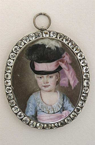 Le Marquis de La Guiche, enfant vers l'âge de trois ans