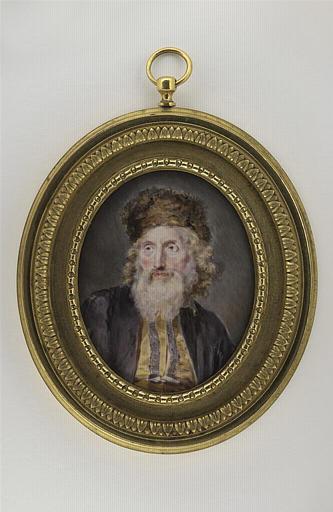 Portrait d'un rabbin