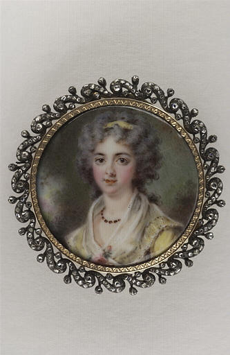 HALL Per Adolf : Portrait de Madame Longueville