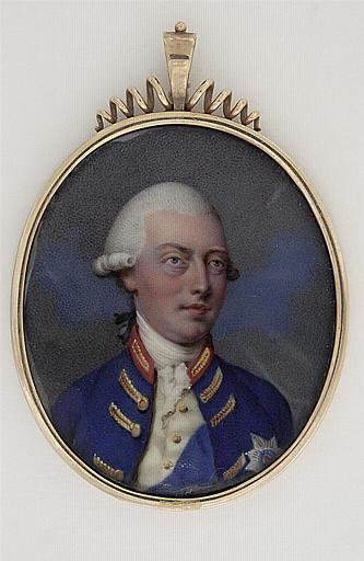 HURTER Johann Heinrich Von : Le roi George III d'Angleterre