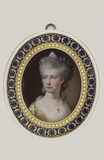 HURTER Johann Heinrich Von : La reine Charlotte d'Angleterre