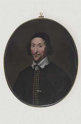 HURTER Johann Heinrich Von : Portrait de John Bradshaw