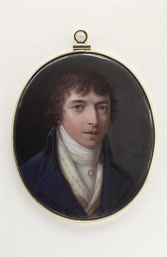 LEVEQUE Henri l'Aîné : Portrait présumé de Monsieur Ponçon