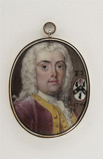 LEWIS John : Sir Francis Furst, en buste