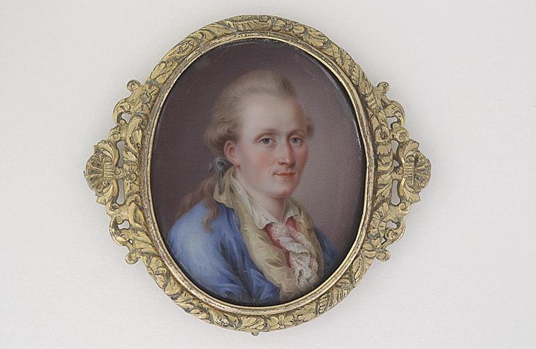 MARCINHES Pierre François : Portrait d'homme en buste