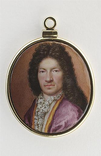 MUSSARD Jean (attribué à) : Portrait d'homme, en buste