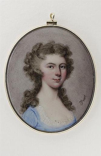 PEAT Thomas : Portrait de Georgiana, Duchesse de Devonshire
