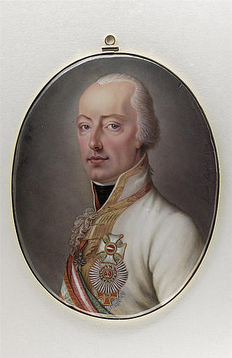WEYLER-KUGLER Louise : Portrait de François II, empereur d'Autriche