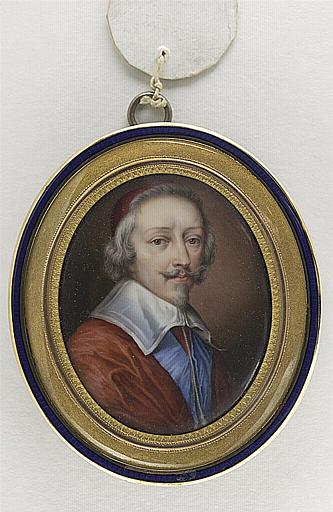Portrait du Cardinal de Richelieu, en buste