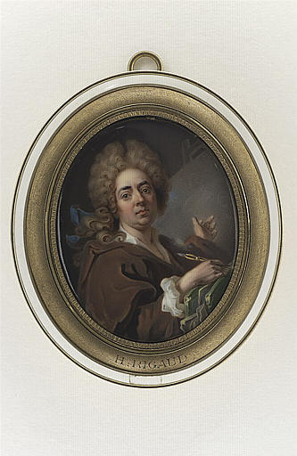 WEYLER-KUGLER Louise, RIGAUD Hyacinthe (inspiré par) : Portrait de Hyacinthe Rigaud