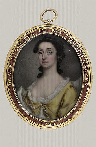 anonyme : Portrait de Clare Gérard