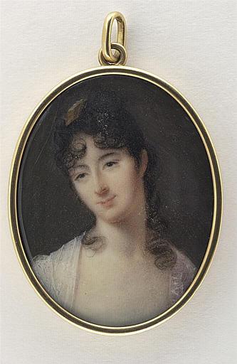 ISABEY Jean-Baptiste : Portrait de Madame Fourès